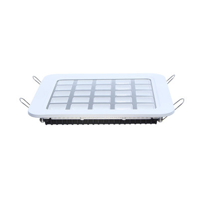 LED Einbauspot Square 25W 185x185mm 120° Bridgelux LEDs 5500K